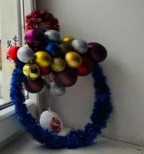 Kalėdinis vainikas